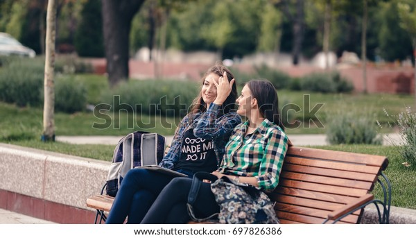 Teen in back bench